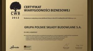 PSB z Certyfikatem