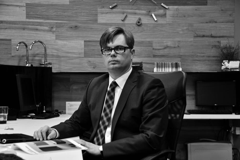 Maciej Aleksiuk:  Jesteśmy niezbędni, by rynek funkcjonował prawidłowo