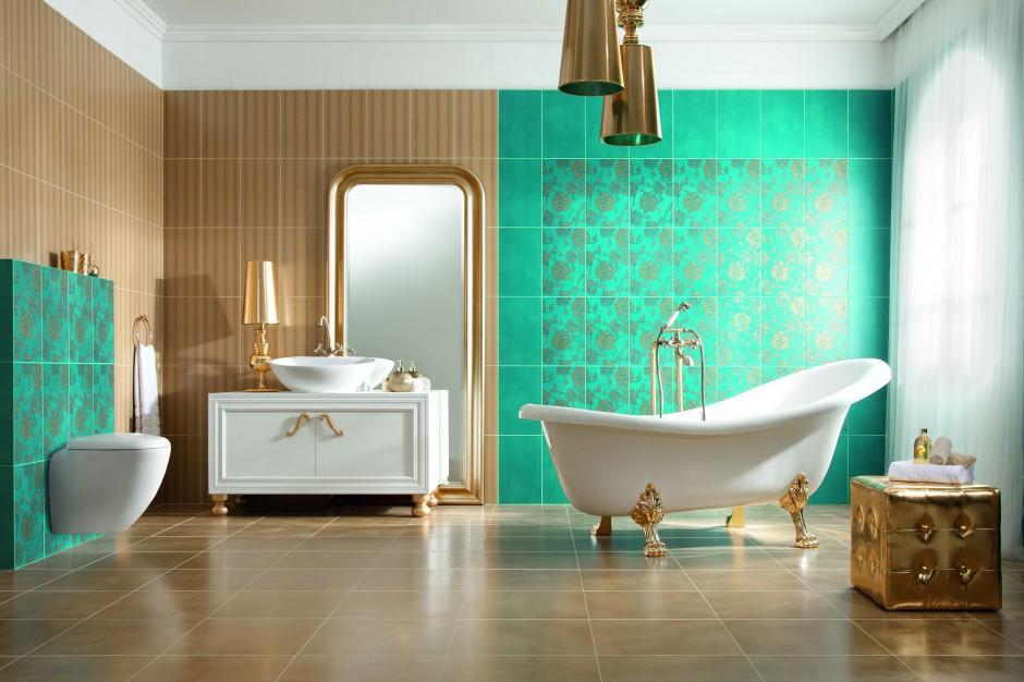 Łazienka w stylu glamour – projektujemy pod okiem architekta
