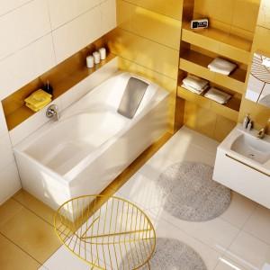 Wanny z akrylu, stali, kompozytu – dopasuj do stylu łazienki