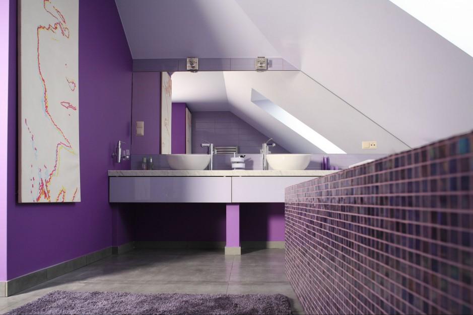 Aranżujemy Farby Do łazienki Kolorowe ściany Odporne Na