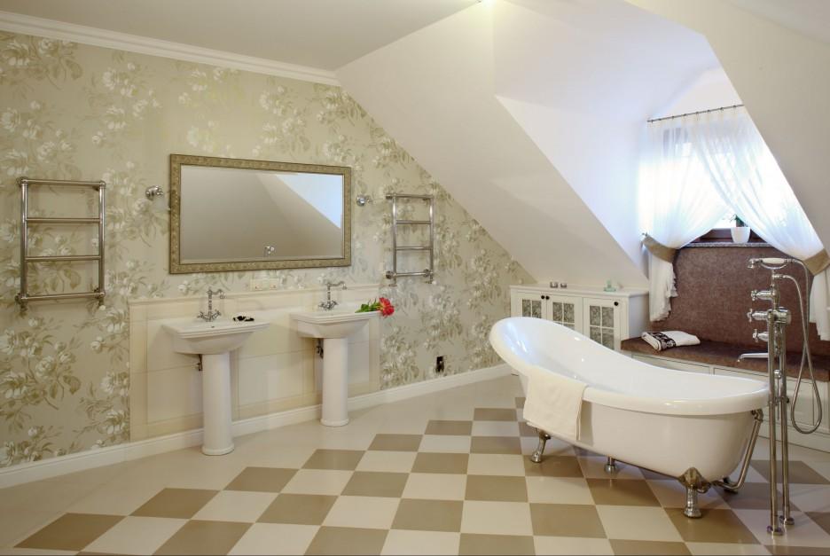 Radzimy łazienka Na Poddaszu 15 Pomysłów Na Wannę Pod Skosami