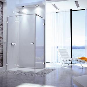 Prysznic w narożniku – nie tylko do małej łazienki