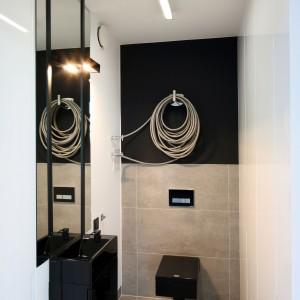 W stylu loft - zobacz wyjątkową łazienkę przy sypialni