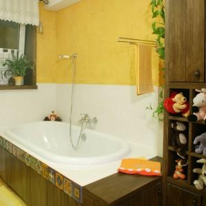 Dekoracyjny tynk w łazience – tak wykorzystują go architekci