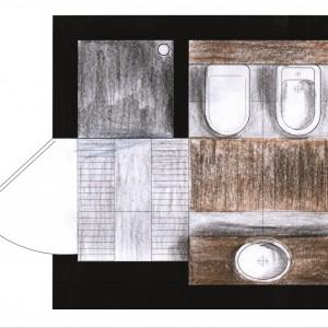 Cegła na ścianie - o łazience w starej kamienicy opowiadają architekci