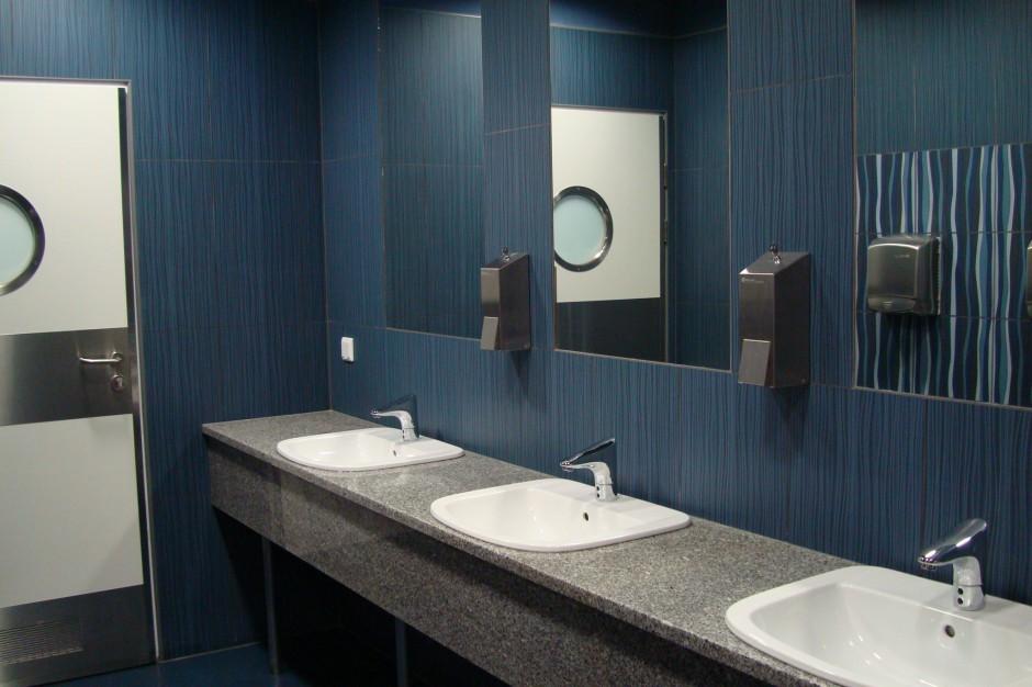Toaleta na najwyższym poziomie przy Kasprowym