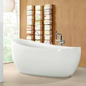 Poczytaj w kąpieli - łazienka z miejscem na książki
