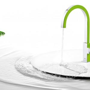 Wysokie baterie - 14 modeli do umywalek nablatowych