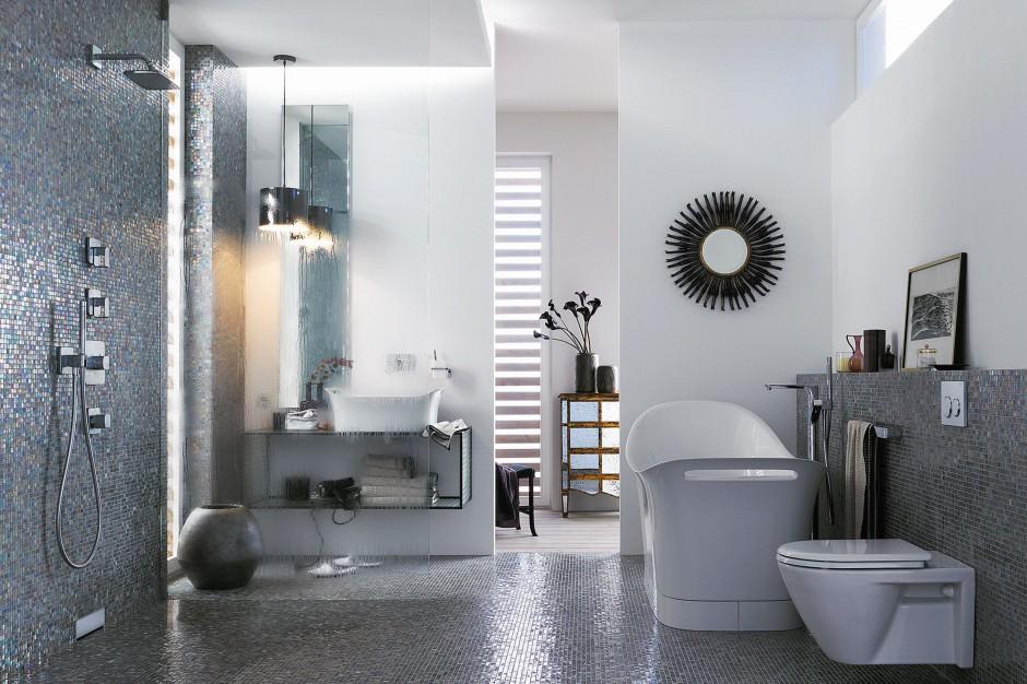 Odpływ zamiast brodzika - 10 sposobów na modny prysznic