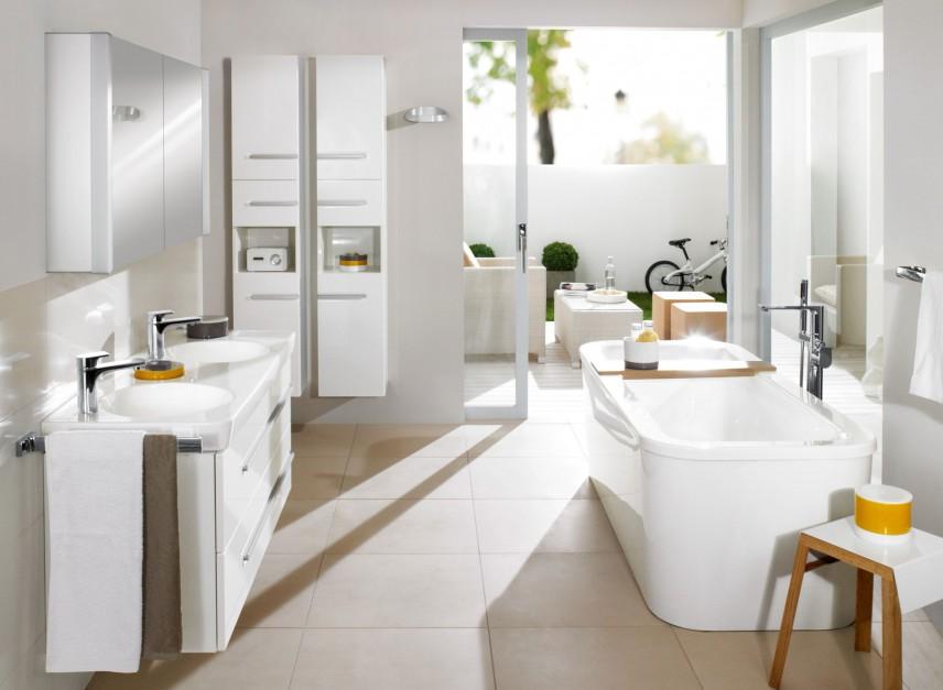 Aranżujemy Białe Meble Do łazienki 15 Pomysłów Na