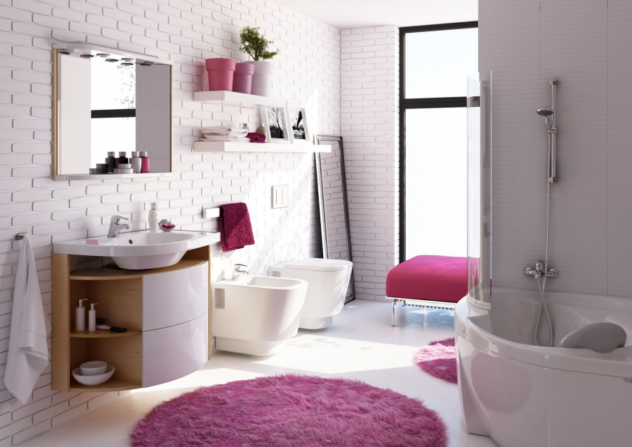 Inspirujemy 15 Pomysłów Na Cegłę W łazience Zobacz