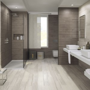 Płytki imitujące drewno do łazienki