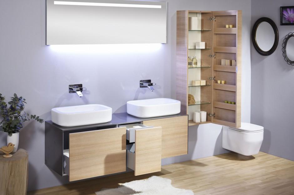Szafki, półki, szuflady – przechowywanie w łazience. 15 pomysłów