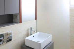 Inspirujemy Bardzo Mała łazienka Wygodna Z Pralką I