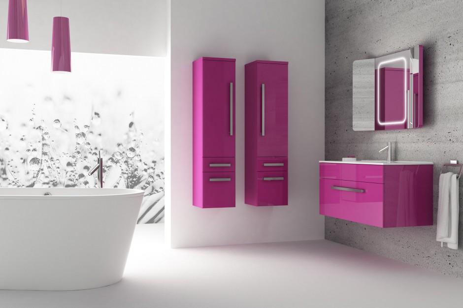 Kolorowe meble do łazienki – zobacz 15 najpiękniejszych kolekcji