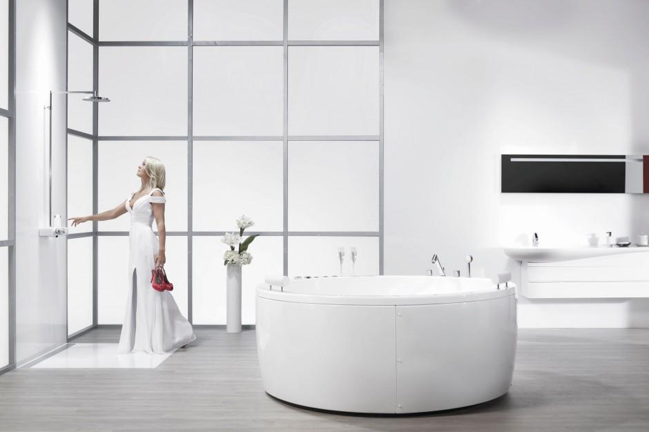 Nowoczesny prysznic – przyjemny, komfortowy, w stylu eko