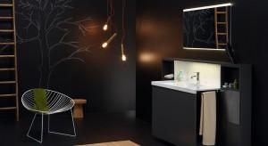 Łazienka dla gości –  niewielka, lecz elegancka. 12 pomysłów