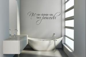 Inspirujemy Cytaty W łazience Co Można Napisać Na