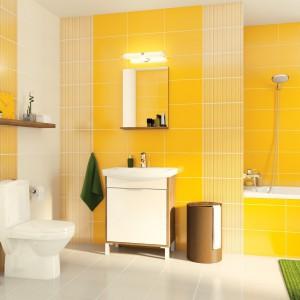 Zaproś słońce do łazienki – kolekcje płytek w odcieniach żółci i pomarańczu