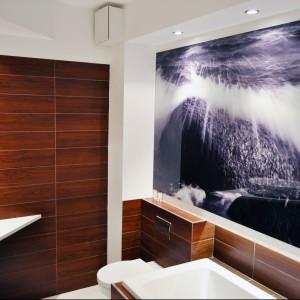 Fototapety w łazienkach małych i dużych. 10 przykładów jak to zrobić