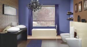 Wielki błękit w łazience – farby w kolorze nieba i oceanu