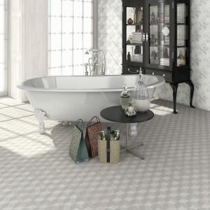 Płytki ceramiczne jak tkaniny –  zobacz kolekcje w stylu glamour