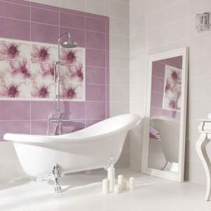 Płytki ceramiczne jak obrazy – wybierz dekorację do swojej łazienki