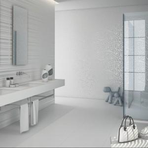 Białe płytki ceramiczne – 12 najpiękniejszych kolekcji do łazienki