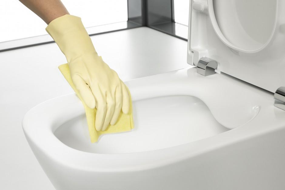 Miski w.c. bez rantu  – gwarancja higieny i łatwiejsze sprzątanie