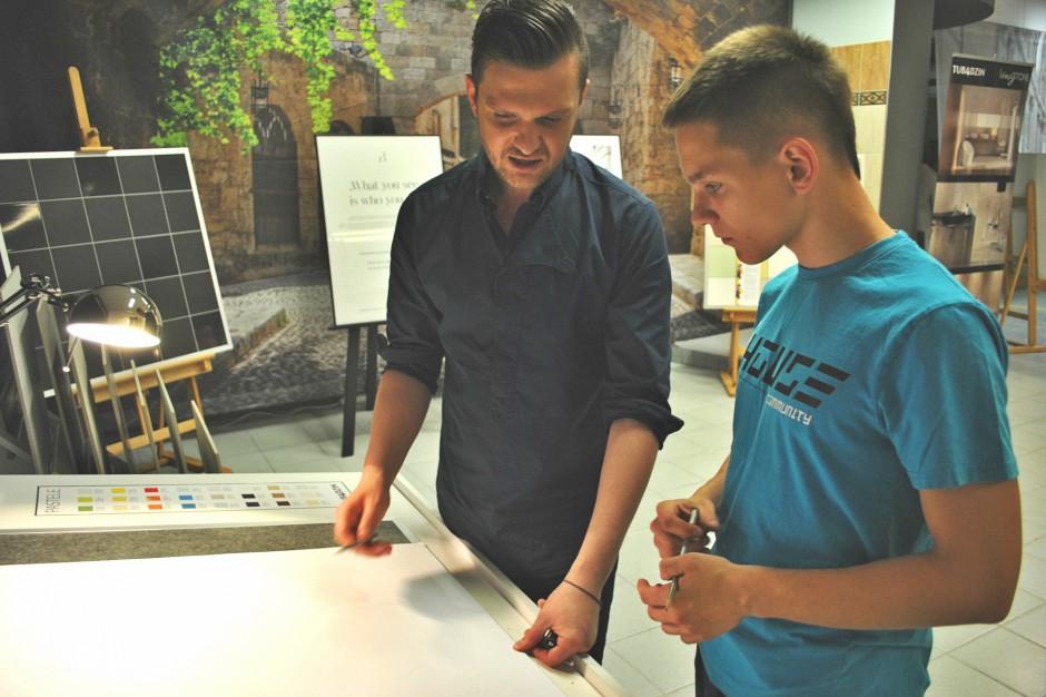 Maciej Zień, projektowanie i... gotowanie [fotorelacja]