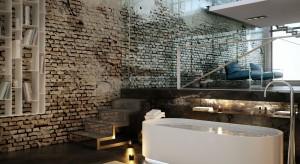 Cegła na ścianach łazienki – zobacz okładzinę, która nie wychodzi z mody