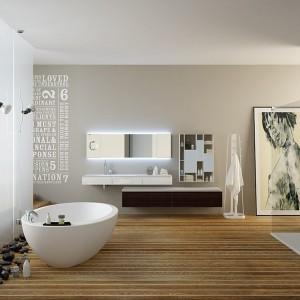 Napisy nie tylko na lustrze – pomysły na łazienkowe dekoracje prosto z alfabetu
