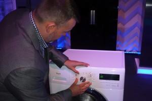 Nowość: pralki dla osób niewidomych. Zobacz zdjęcia z polskiej premiery!