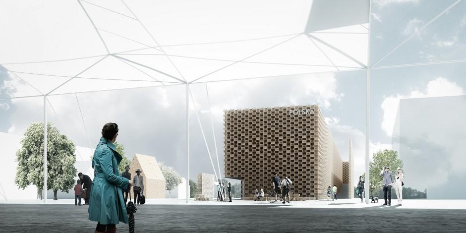 W budowie Pawilonu Polski na EXPO 2015 swój udział ma też branża łazienkowa