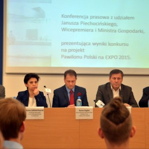 Sad pełen jabłoni - taki będzie Pawilon Polski na EXPO 2015