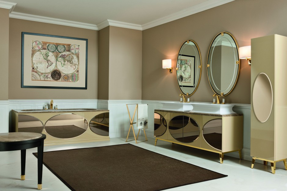 Inspirujemy azienki w stylu art d co stylowe for Latest bathroom designs 2015