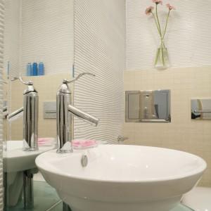 Łazienka dla gości – nowoczesne wnętrze w morskim klimacie