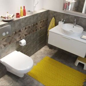 Łazienka ożywiona kolorem – postaw na barwne i stylowe dekoracje