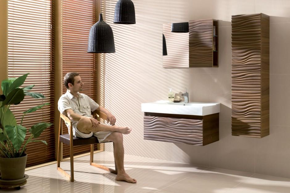 Łazienka w modnych brązach – sposób na przytulne wnętrze