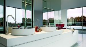 Owalne i okrągłe umywalki nablatowe  - przegląd rynkowy [2014]