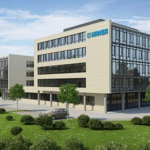 Nowa siedziba administracji firmy Hansa