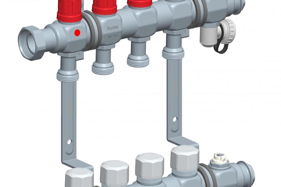 DSM - nowy rozdzielacz do systemu ogrzewania podłogowego