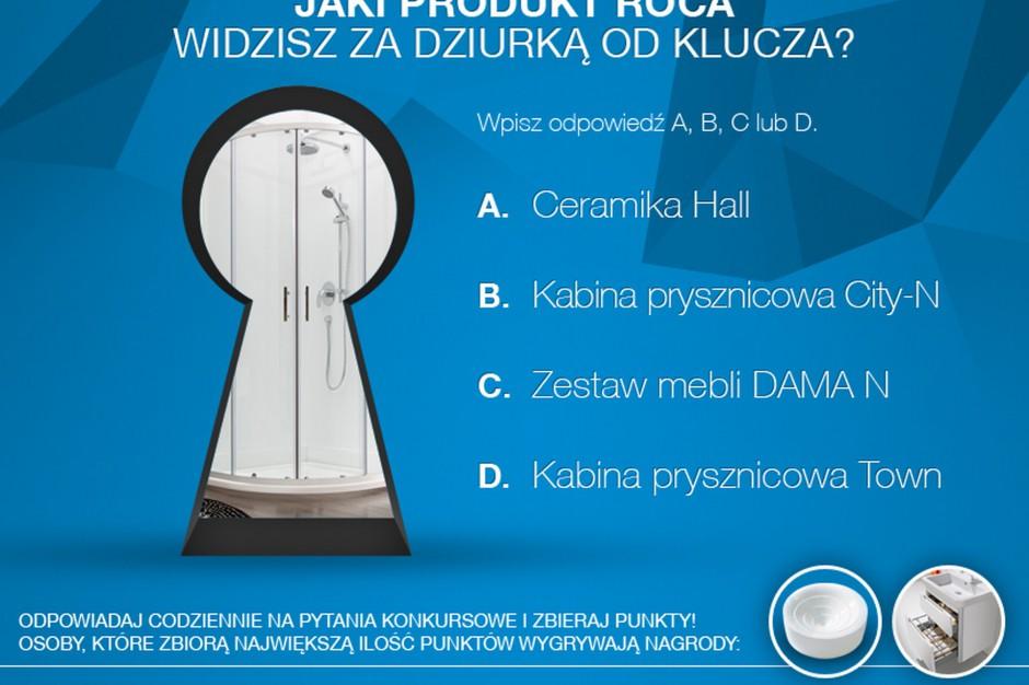 Konkurs: podglądamy łazienkę Roca