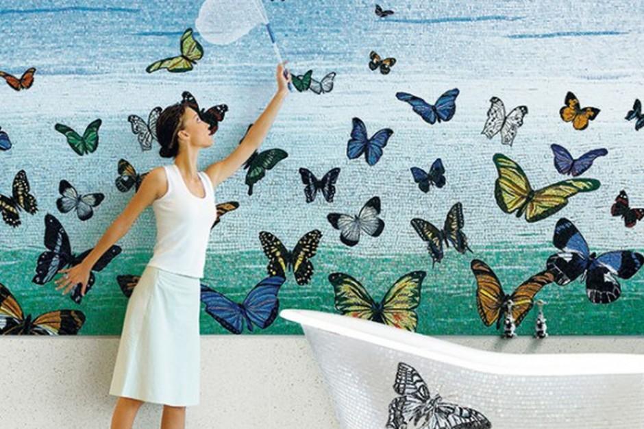 Jest lato – są też motyle! Pomysłowe dekoracje do łazienek