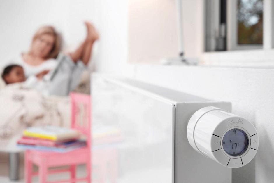 Elektroniczne zawory termostatyczne - ciepło optymalnie dozowane