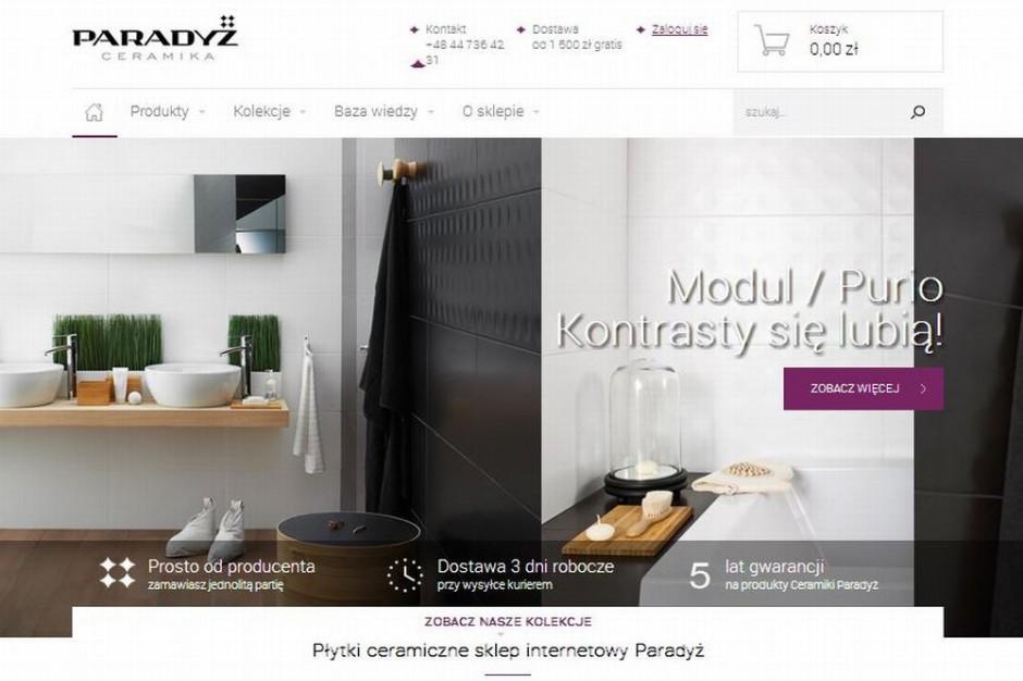 Grupa Paradyż otworzyła własny sklep internetowy