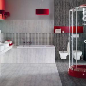 W barwach czerwieni – pomysły na modną łazienkę