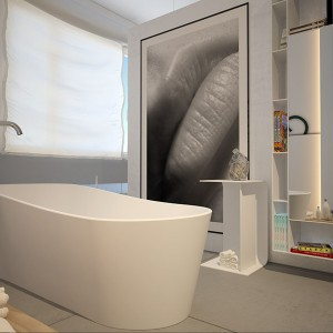 Łazienka w stylu artystycznym – 10 pomysłów na aranżację z obrazami