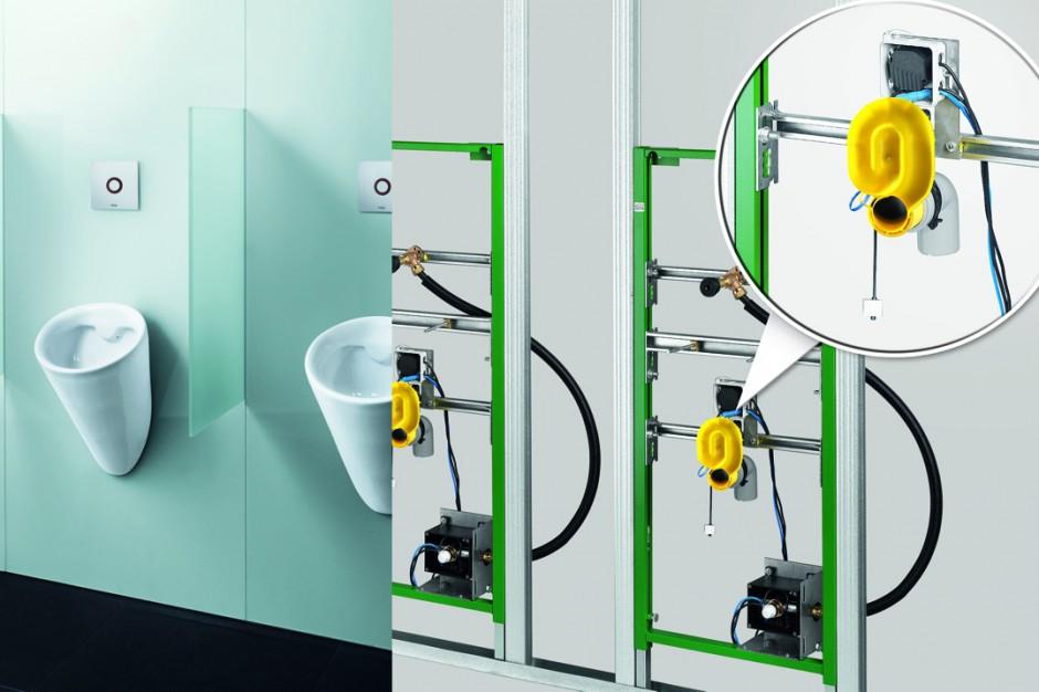 Nowy syfon z czujnikiem w systemie Viega Eco Plus
